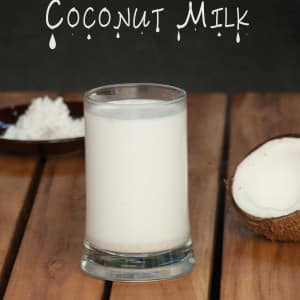Homemade Coconut Milk www.masalaherb.com #stepbystep #recipe