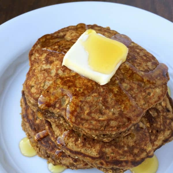 Gluten Free Gingerbread Protein Pancakes
