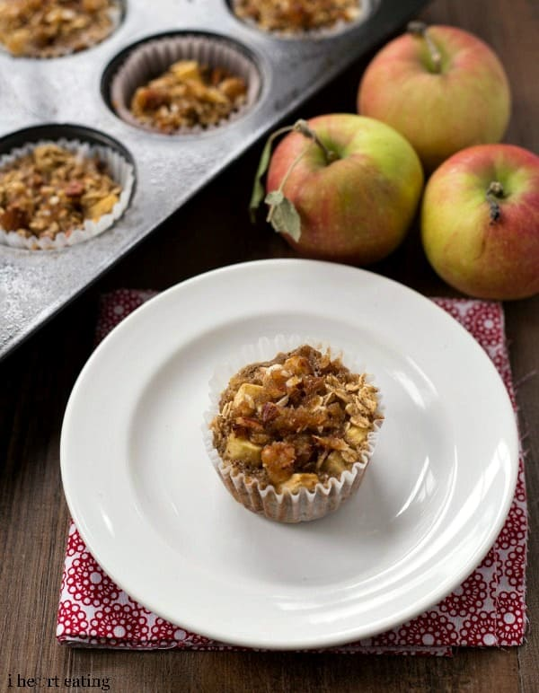 Individual Apple Crisp Oatmeal