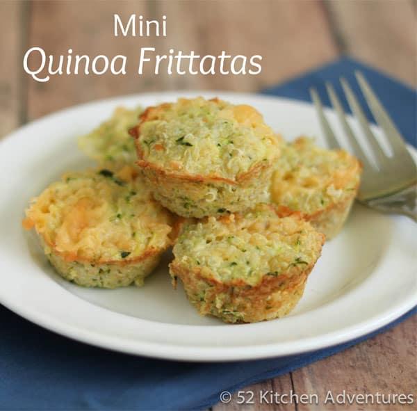 Mini Quinoa Frittatas