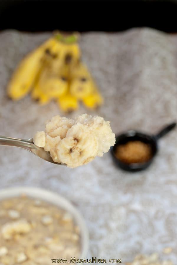 Semolina Breakfast Porridge www.masalaherb.com