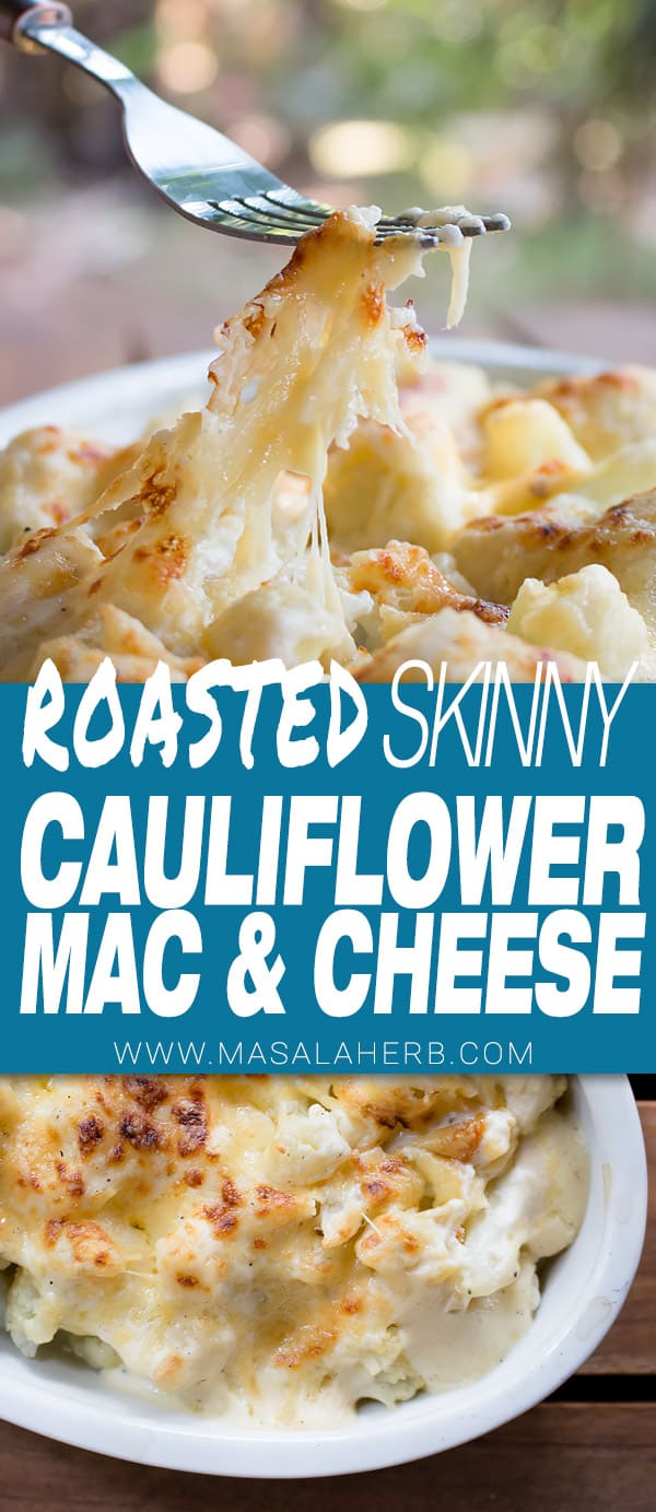 Roasted Cauliflower Mac and Cheese Casserole [Video]