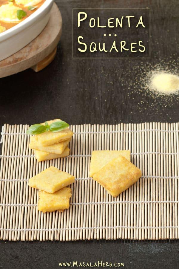Polenta Squares masalaherb.com