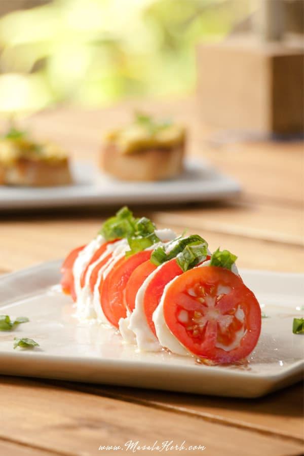 Simple Caprese Salad
