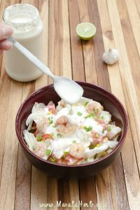 Yogurt Lime Dressing masalaherb.com