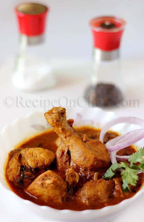 Indian style chicken curry by Recipe on Click