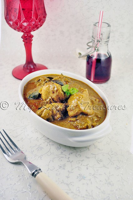 Kerala chicken Curry by My Kitchen Treasures
