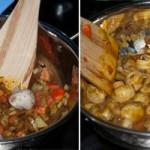 Mushroom Masala Recipe - One Pot Mushroom Curry Spiced Gravy [Nut Free, Gluten Free, Vegetarian] www.masalaherb.com #recipe #Indian