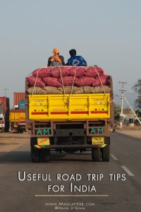 Useful road trip tips for India