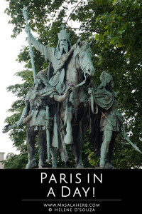 Paris in a day