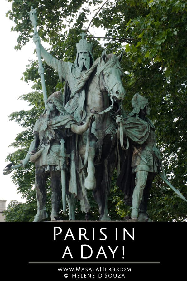 Paris in a day | Masala Herb