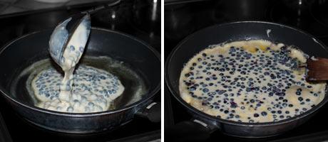 Blueberry Kaiserschmarrn {shredded pancake dessert} www.masalaherb.com