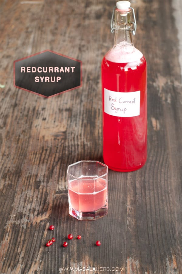 Red Currant Cordial Recipe How To Make Syrup No Cooking