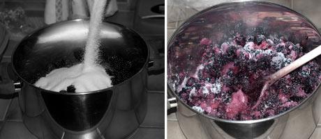 Blackberry Jam Recipe {without Pectin} www.masalaherb.com