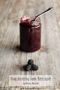Blackberry Jam Recipe {without Pectin} www.masalaherb.com
