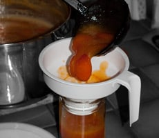 Apricot Jam Recipe {without Pectin} www.MasalaHerb.com #DIY