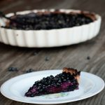 Blueberry Tart with Custard Recipe