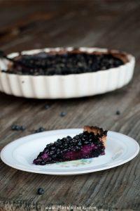 Blueberry Tart with Custard Recipe