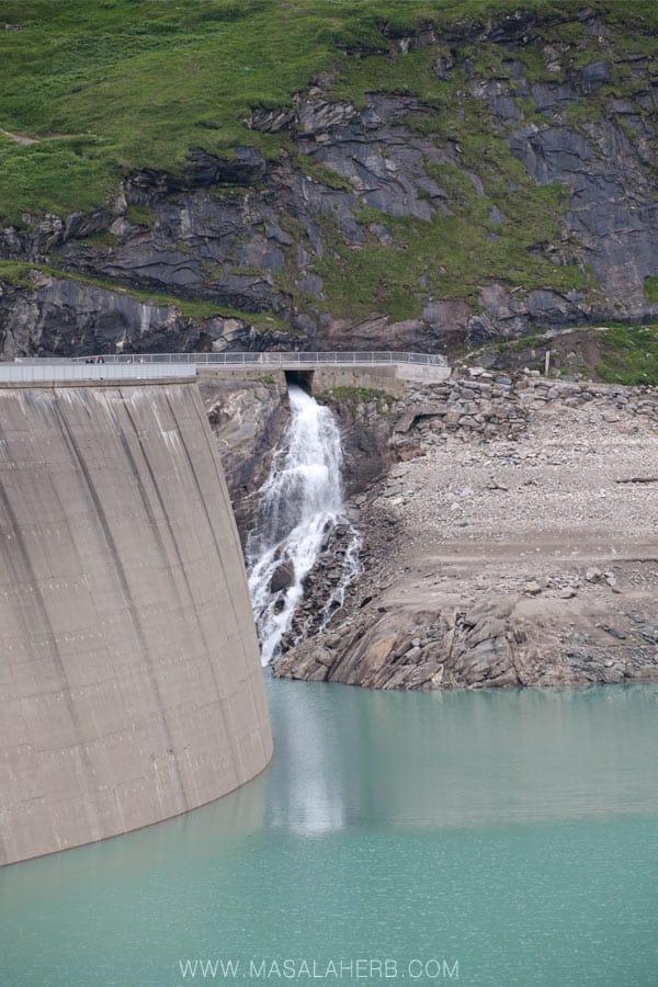 High Altitude Reservoir Hohe Tauern Kaprun Austria #travel #landscape #europe www.masalaherb.com