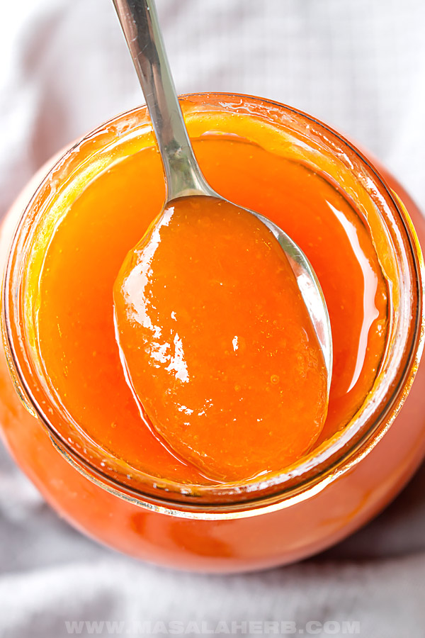 apricot jam with 3 ingredients