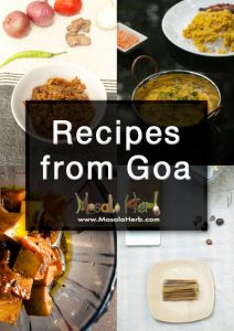 Free Recipes from Goa ebook by masalaherb.com subscribe to the exclusive newsletter