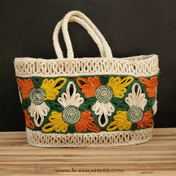 Handmade Banana Fiber Grocery Bag - buy in India www.masalaherb.com/shop