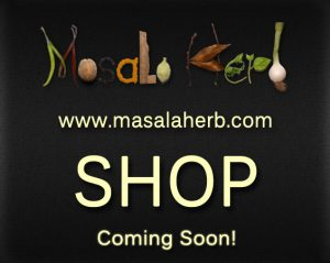 Soon launching kitchen and home articles from India at the masalaherb.com shop