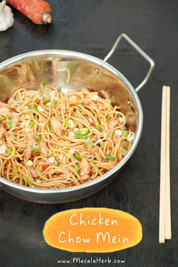 Chicken chow mein recipe masala herb chicken chow mein recipe below forumfinder Image collections