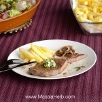 Beef Steak with Herb Butter Recipe