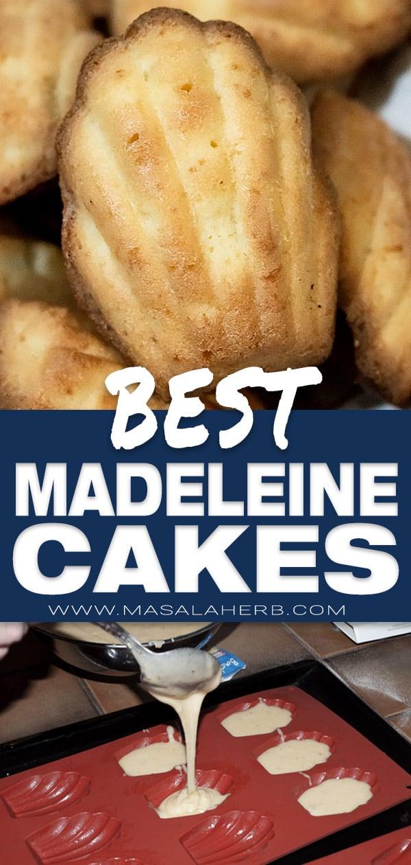 Best Madeleine Recipe [French]
