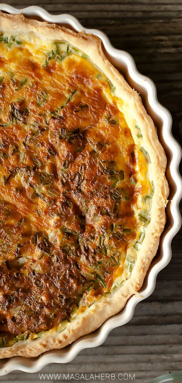 French Quiche Lorraine Recipe