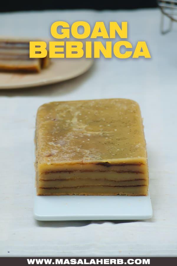 goan bebinca layered cake