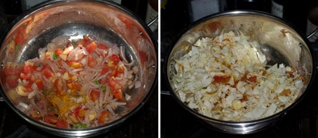 Cabbage Bhaji - Spiced Goan Cabbage Stir Fry #Indian #Recipe www.masalaherb.com