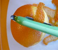 Candied Orange Peel #Recipe #DIY www.masalaherb.com