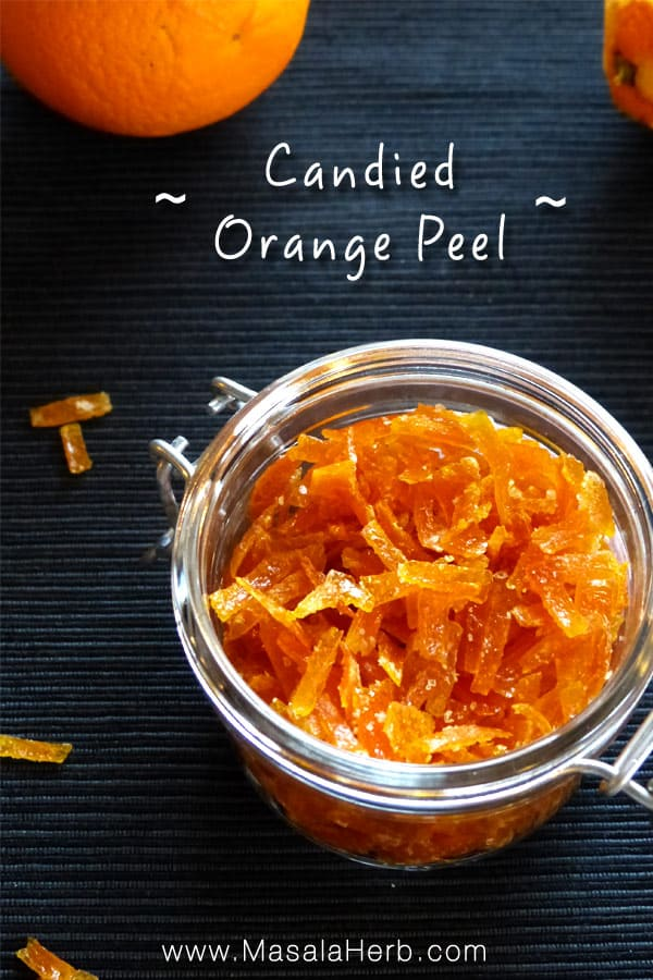 candied orange peel recipe how to make candied orange