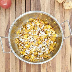 Indian cabbage stir fry
