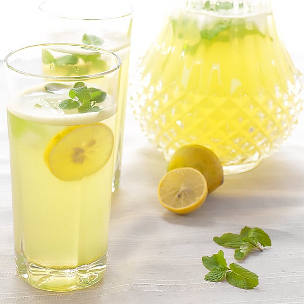 Limonana - Israeli Mint Lemonade