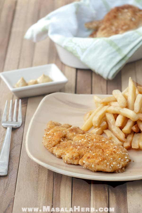 Easy Chicken Schnitzel Recipe - How to make Israeli Schnitzel [+Video]