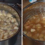 Easy Pear Preserves - Pear Jam Recipe with Vanilla & without Pectin www.masalaherb.com #Recipe #Jam #stepbystep
