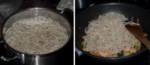 Singapore Noodles - Singapore Chow Mein - Stir fried Asian Noodles #stepbystep #Recipe #Asian www.masalahern.com