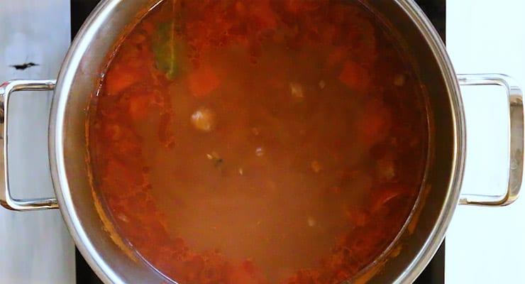 boil goulash