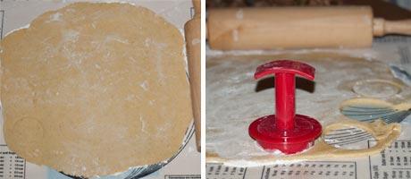 Albertle Stamped Cookies - German cookies - How to make stamped cookies www.MasalaHerb.com #cookies #Christmas