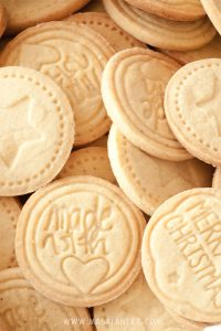 Stamped Cookies – Albertle German cookies – How to make stamped cookies