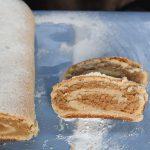 Poppy Seed Stollen {Eggless} - Christstollen Cake Recipe www.masalaherb.com