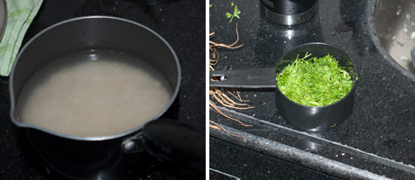 Coriander Rice Recipe - How to make Coriander Rice - Cilantro Rice www.MasalaHerb.com #Indianfood