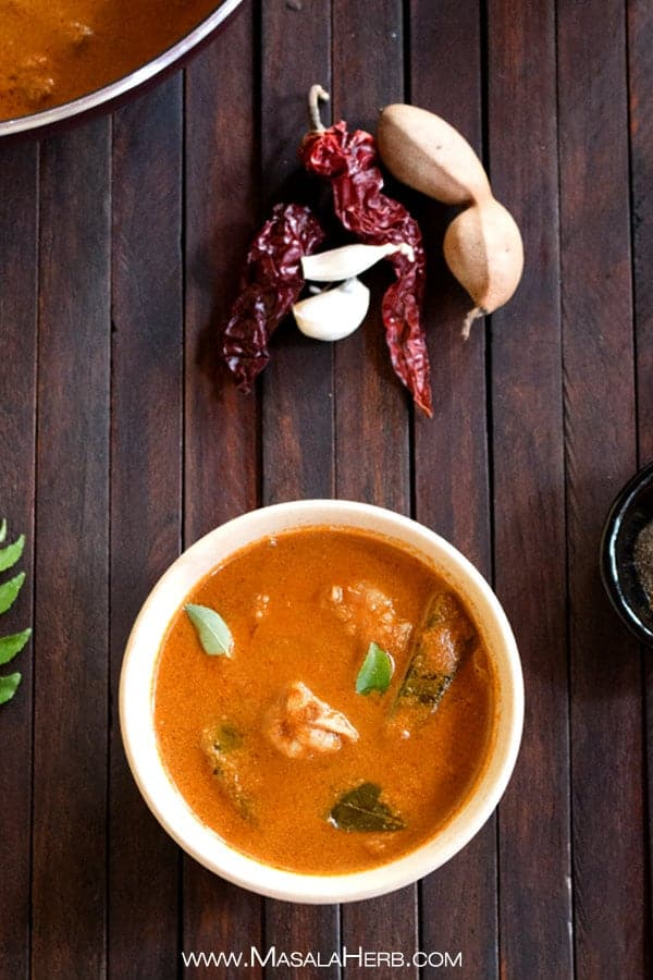 Goan Prawn Curry - How to make goan prawn curry recipe with video www.MasalaHerb.com #indianfood