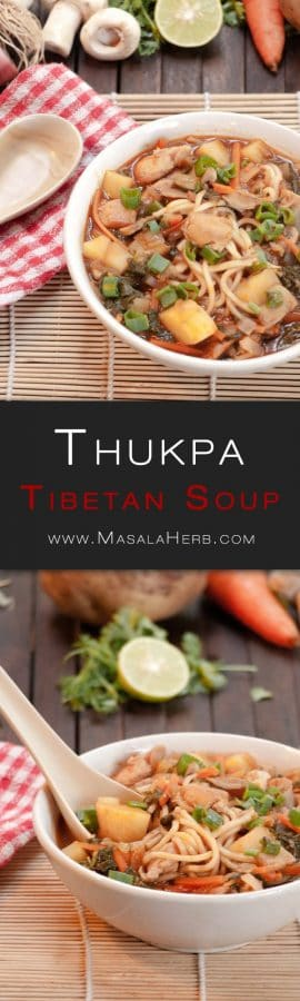 Tibetan Thukpa Recipe