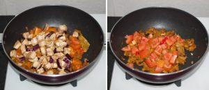 Vegetable Korma Recipe - Simple creamy mix veg kurma curry {without coconut} www.MasalaHerb.com