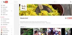 Masala Herb Youtube Channel www.MasalaHerb.com