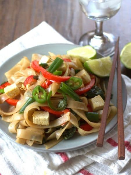 12 fantastic Stir-Fry Asian Noodle Dishes you need to try! Collection at MasalaHerb.com ---Five Spice Drunken Noodles connoisseuruswev.com